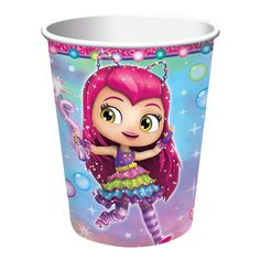 Lovely Little Charmers 9 oz Paper Cups. Superb collection of Little Charmers Cups & Glasses for Birthday, Halloween at PartyBell. Crepe Paper Streamers, Party Streamers, Tissue Paper Flowers, Birthday Plate, 8th Birthday, Birthday Supplies, Party Supplies, Little Charmers, Glow Party