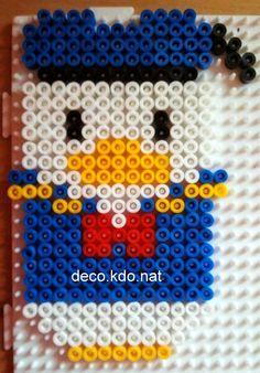 Donald Duck hama perler beads by DECO.KDO.NAT