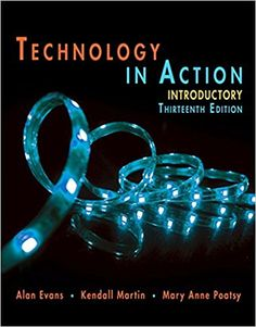 10 best engineering textbook images on pinterest class books technology in action introductory edition evans martin poatsy technology in action serie fandeluxe Choice Image