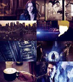 Clary,Valentine,Jocelyn, Cazadores de Sombras