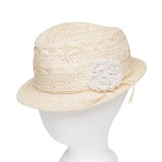 I love the August Accessories Floral Frontier Fedora from LittleBlackBag