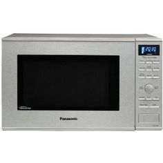 """Panasonic Microwave. Invertor technology- it should be called """"(h)eat faster technology"""" The dial gives a very old school ipod feel for the whole thing. I guess if I read the manual I would have better control of the sensor cooking features. For now I'll have to settle for super hot food."""