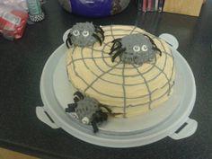 Spider Halloween Cake
