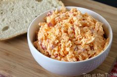 A simple, easy recipe for homemade pimento cheese.