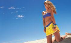Jessica Hart for Calzedonia swimwear S/S 13