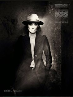 Ines de la Fressange by Paolo Roversi for Vogue Italia September 2014