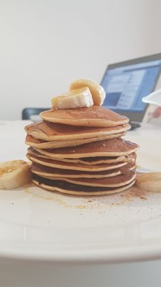 Delicious and healthy pancakes
