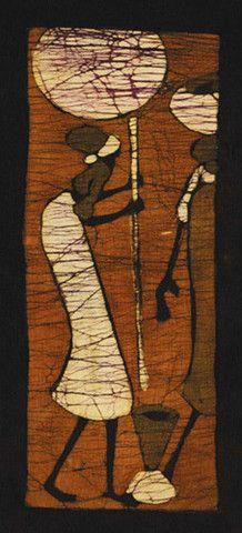 Batik V Art Print by Setsinala
