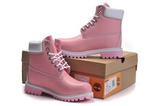 Timberland 6 Inch New Boots Pink White For Women,Fashion Winter Timberland Womens Boots Outlet Online Shop