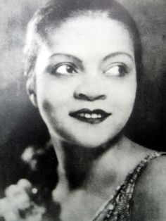 Florence Mills (1896-1927), the first Black international female superstar, one of the greatest entertainers and singing, dancing Jazz performers