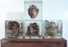Dustin Yellin Art   dustin yellin s work