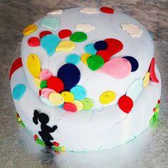 Balloon's cake