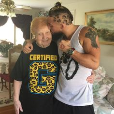 Enzo and his grandma