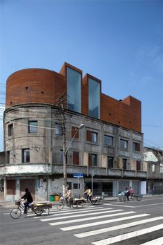 Waterhouse on the South Bund hotel in Shanghai. NHDRO architects.