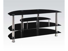Acme-Furniture-Home-Entertainment-TV-Stand-Black-91064-New