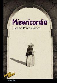 """""""Misericordia"""", de Benito Pérez Galdós. Cubierta de Gerardo Domínguez"""