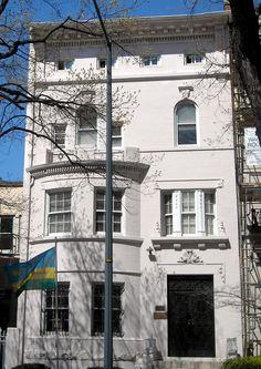 Embassy of Rwanda, 1714 New Hampshire Avenue NW, Washington, DC