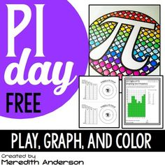 https://www.teacherspayteachers.com/Product/Pi-Day-FREEBIE-Graphing-and-a-Game-1107865