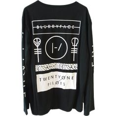 NBDIB Men's Long Sleeve T Shirt Twenty One Pilots Print Vetement Homme ($8.80) ❤ liked on Polyvore featuring men's fashion, men's clothing, men's shirts, tops, shirts, long sleeved, men, mens clothing, mens print shirts and mens long sleeve shirts