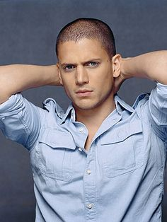 Wentworth Miller, for those of you who loved Prison Break!