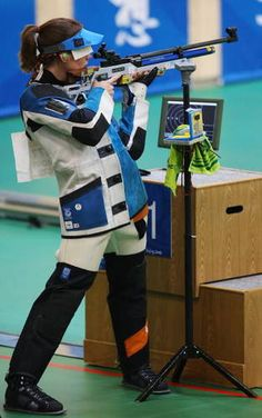 Kateřina Emmons - Shooting - Beijing Olympics 2008 - Womens 10m Air Rifle  Starting the 2016 dream...