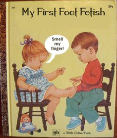 Funny books My First Foot Fetish