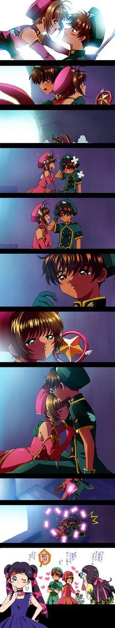 seria tão bom se esta cena existisse no anime mas não existe