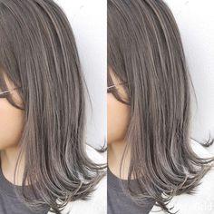 30代女子に捧ぐヘアスタイル集♡ショートからロングまで取り入れやい髪型カタログ - Peachy(ピーチィ) - ライブドアニュース Brown Hair Balayage, Dark Blonde Hair, Hair Highlights, Korean Short Hair, Diy Hair Mask, About Hair, Silver Hair, Hair Day, Hair Designs