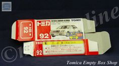 TOMICA 092D TOYOTA CROWN HYBRID | 1/62 | ORIGINAL BOX ONLY | ST9 1999 CHINA