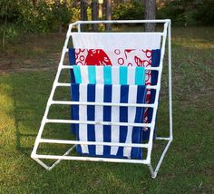 Deck Our Home: PVC Towel Holder