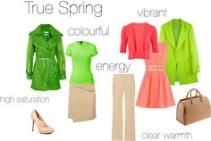 """True Spring - an excercise"" by silverwild on Polyvore"