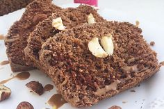 Plumcake al cacao e mango con nocciole. - Delicious Breakfast
