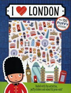 I Love London Sticker Book - Paperback - 9781786920539