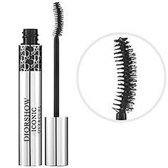 Diorshow Iconic Overcurl Mascara. A revolutionary mascara with a curved brush that offers spectacular volume and curling power.