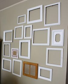 I mentioned before that I've been collecting picture frames for a gallery wall (or two!) and I thought I'd share a quick progress report on ...