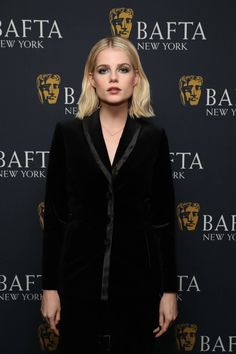 Lucy Taylor, Bob Hairstyles, Wedding Hairstyles, Short Hair Cuts, Short Hair Styles, Girl Actors, Lucy Boynton, Face Hair, Suits For Women