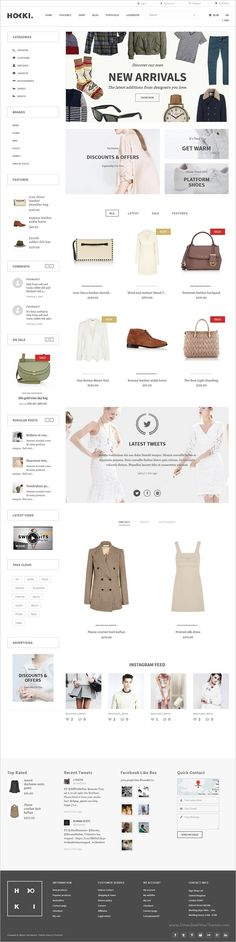 Hoki is a wonderful responsive #WooCommerce #WordPress theme for stunning #eCommerce websites with multiple homepage layouts download now➩ https://themeforest.net/item/hoki-multipurpose-responsive-wordpress-woocommerce-theme/18950303?ref=Datasata