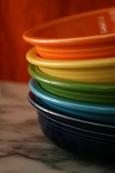 I just fulfilled a lifelong dream and ordered my Fiestaware in this color combo, minus the sunflower, but I'm liking it so much I may add later. Is it possible to have TOO MUCH Fiestaware?