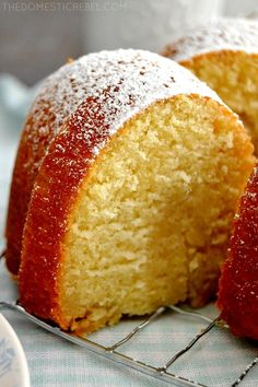 Best Butter Cake This Best-Ever Butter Cake is so supremely moist, easy to make, and tastes so buttery and delicious! Cupcakes, Cupcake Cakes, Bundt Cakes, Butter Pound Cake, Buttermilk Pound Cake, Almond Pound Cakes, Baking Recipes, Dessert Recipes, Shot Recipes