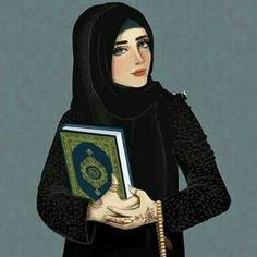 I just love this anime Girly M, Hijabi Girl, Girl Hijab, Lovely Girl Image, Girls Image, Muslim Girls, Muslim Women, Decoraciones Ramadan, Mother Daughter Art