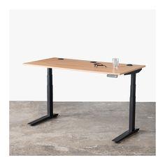 Jarvis Adjustable Standing Laminate Desk | Ergo Depot