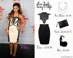 Ariana Grande , style , black , white