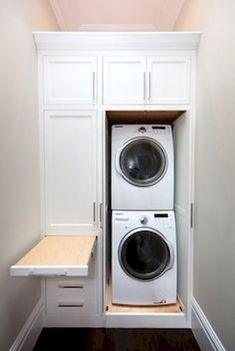 63 Best Modern Farmhouse Laundry Room Decor Ideas