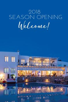 In this beautiful, calm spring night, where the salty sea breeze calls for a drink and light shawl, we say goodbye to this season's first opening day!  Here's to more wonderful summer days and nights!    Welcome summer season 2018!                                         #ArchipelagosMykonos #ArchipelagosLiving