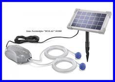 Zuurstofpomp Duo Air op zonne-energie uw vissen zullen u dankbaar zijn 101880 | eBay