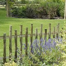 rustic garden fencing - Google Search