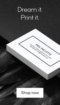 These are not your average business cards. Tell the story of you and your business with premium paper stocks, full-color, double-sided designs and unique options like gold foil, raised gloss and rounded corners. start with a template or uplo Starting A Business, Business Planning, Business Tips, Online Business, Business Quotes, Premium Business Cards, Luxury Business Cards, Web Design, Logo Design