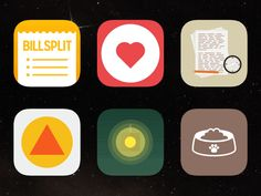 Animated app icons by Niels Boey
