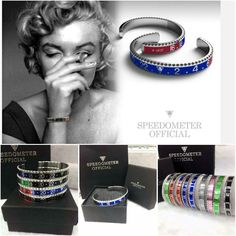 Dial Steel Speedometer bracelet cuff man stainless Steel Submariner Bangle pulseiras bracelets & bangles
