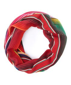 Look at this Red Serape Infinity Scarf on #zulily today!